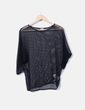 Top tricot negro XDYE