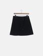 Mini falda evasé negra cordón Tara Jarmon
