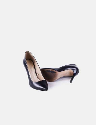 57390c4cc0655 Zara Zapatos stilettos negros (descuento 56%) - Micolet
