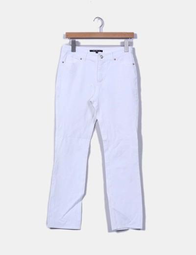 Pantalón blanco Jota+Ge