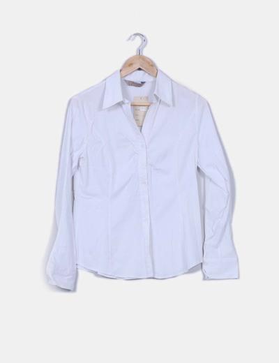 Camisa blanca manga larga MELYA