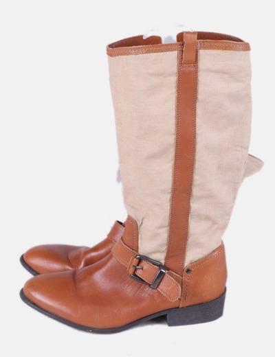 Zara Stivali conminadas marrone (sconto 75%) - Micolet bd2954c5aa9