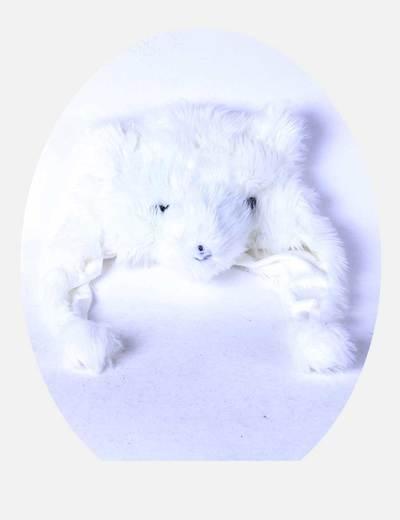 Gorro blanco con cara de animal Atmosphere