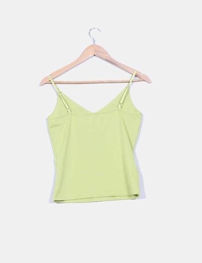 Camiseta pistacho basica