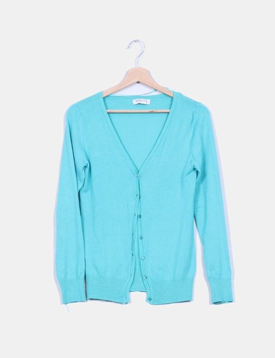 Cardigan verde mint Suiteblanco
