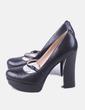 Zapato de tacón negro Guess