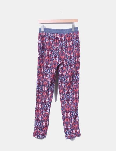 Pantalon baggy estampado