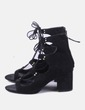 Sandálias de tacão Zara