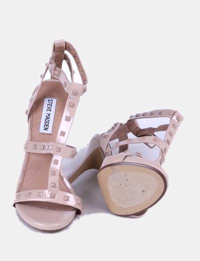 Sandalias maquillaje con tachas