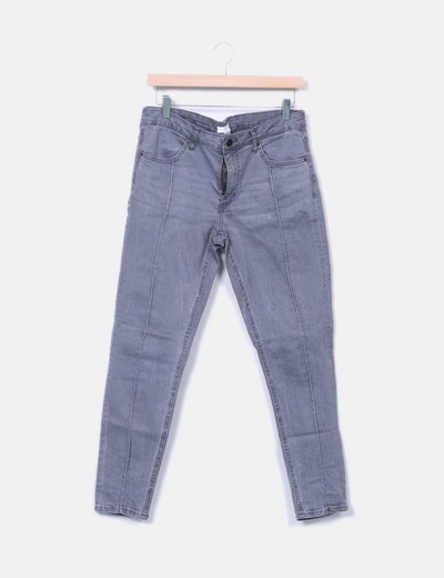 Pantalón pitillo vaquero H&M