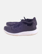 Sneaker satinada negra Nike