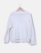 Jersey blanco tricot con cuello pico Primark