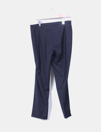 Pantalon sarga azul marino