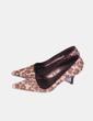 Zapatos kitten heels pelo print leopardo (9) Gloria Ortiz