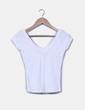 Camiseta blanca básica Zara