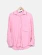 Camisa fluida rosa Zara