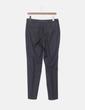 Pantalón chino gris oscuro Massimo Dutti