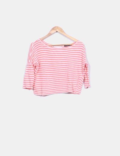 Top tricot de rayas Shana