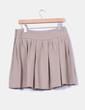 Mini falda beige  Zara