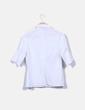 Camisa blanca manga francesa Adolfo Dominguez