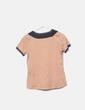 T-shirt deux couleurs à manches courtes Bimba&Lola