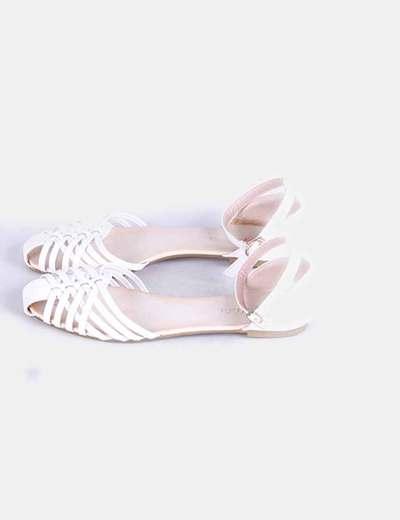 Sandalia blanca  Anlida