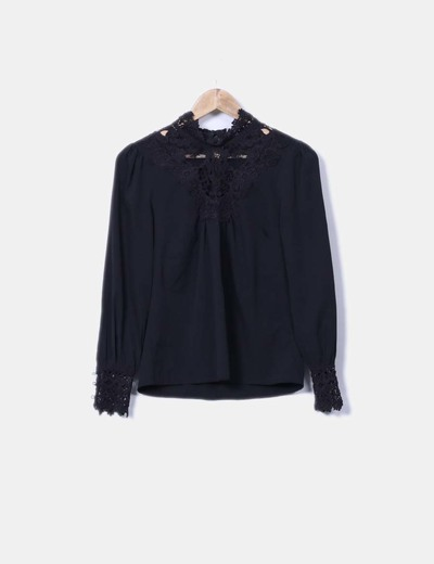 Blusa escote crochet Vero Moda