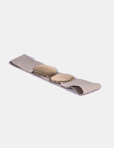 comprar auténtico precio baratas primer nivel Cinturón elástico dorado