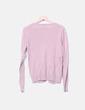 Chaqueta tricot rosa detalles plisados Amisu