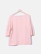 Blusa rosa manga campabna Venca