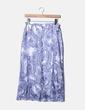 Falda maxi azul estampada Gerry Weber