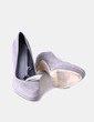 Zapatos de ante gris Cortefiel
