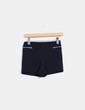 Short negro texturizado Pull&Bear