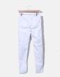 Pantalón pitillo blanco Bershka