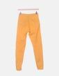 Jegging high waist naranja Bershka