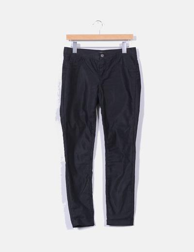 Jeans pitillo negro detalle brillo  ONLY