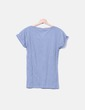 Camiseta gris print corazón Inside