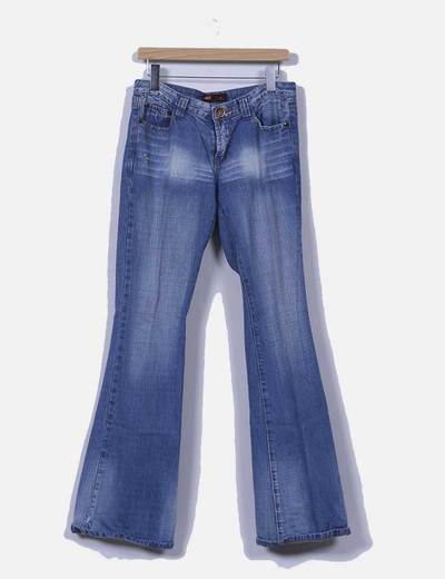 Jeans denim campana Biao Qi