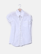 Camisa blanca con bordados Lefties