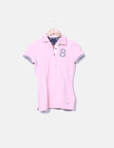 Polo rose Tommy Hilfiger