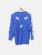 Jersey  azul tricot con abalorios NoName
