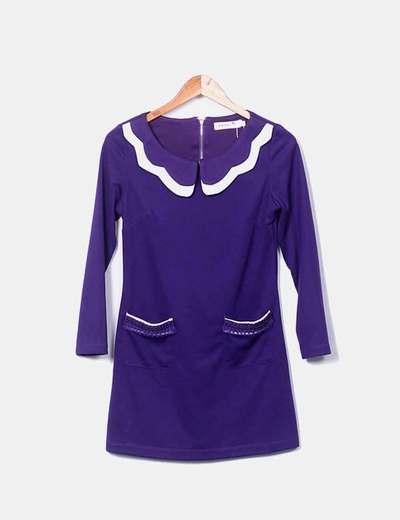 Habillez-à poches violette Anany