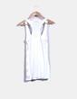 Camiseta blanca con pailettes Forever 21