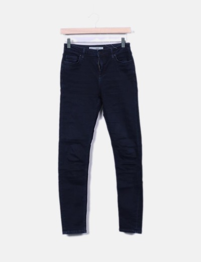 Jeans denim azul oscuro Topshop