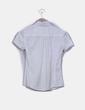 Camisa Blanco roto texturizada Mango