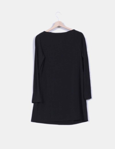 Vestido negro de licra