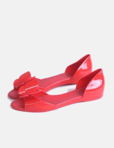 Bailarinas rojas con aberturas