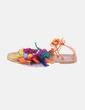 Sandalia con borlas naranja Best Shoes