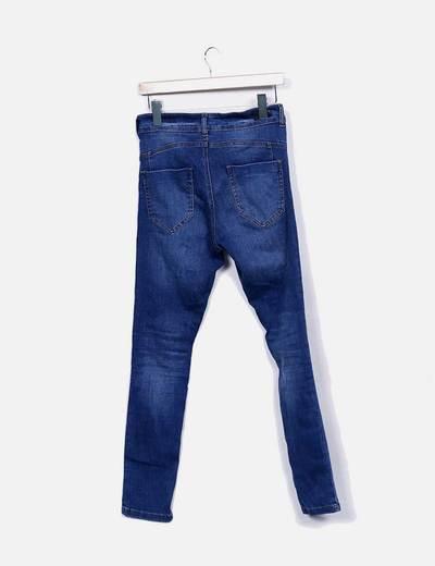Jeans denim azul oscuro