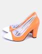 Zapatos heels beaulieu naranja YULL